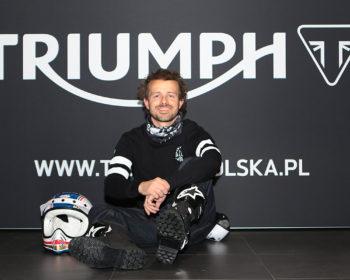 Krzysztof Piątkowski ambasadorem salonu Triumph Katowice